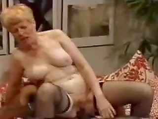 Black long snake cums on mature woman
