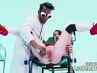 Biker and black doctor seduced young sluts for anal fucking in the crazy Life Selector video 8
