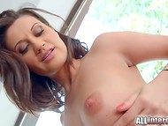 After a short walk along the country house Madlin Moon gets excited dick in her ass 7
