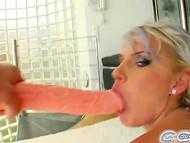 Wild Bea Stiel perceives pure pleasure when brazen men ruthlessly plow her throat 3