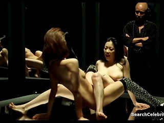 Erotic film 'Flower & Snake 3' of Japanese production with Minako Komukai in the main role