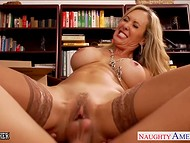 Phenomenal teacher Brandi Love fucked student once again being already fired 7