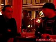 Night walk over Amsterdam finished with blowjob by hooker in the local brothel 4