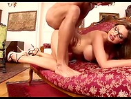 Boss closed the door of his luxurious office to fuck his drop-dead gorgeous secretary Aletta Ocean 10