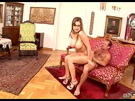 Boss closed the door of his luxurious office to fuck his drop-dead gorgeous secretary Aletta Ocean 8