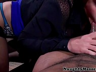 Tired business lady Bunny Freedom was in need of relaxing massage and enjoyable fuck 7