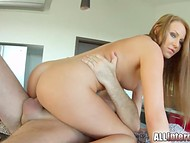 Seductive Angel Blade with juicy butt got vagina penetrated and creampied 6