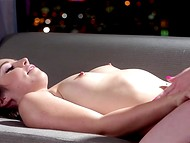 Gentle massage wasn't enough for good-looking beauties that's why they switched to pussy licking 5