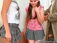 Lazy students from Russia had a single way to pass exams - to satisfy their lustful teacher 6
