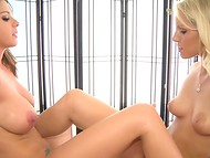 Brooklyn Chase accepted masseuse Vanessa Cage's offer to frolic being in relaxed state 7