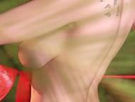Сольное выступление на свежем воздухе с участием рыженькой Elizabeth Marxs, демонстрирующей красивую грудь и гладкую киску 4