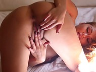 It's hard not to get aroused while watching zealous Charmane Star masturbating 8