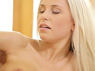 No one fondles pussy as tender as wondrous Czech Dido Angel doesi it on stairs 11