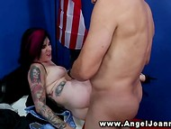 Governor and president decide whether to start the war or not fucking Joanna Angel 6