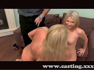 XXX casting can help blondies to find super job
