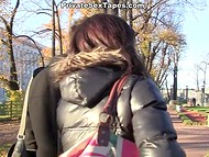 Russian couple has no experience in recording their sex but they really try hard 4