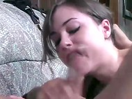 Videotape with former pornstar Sasha Grey showing her unprecedented deepthroat ocksucking skills 4