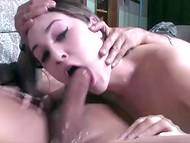 Videotape with former pornstar Sasha Grey showing her unprecedented deepthroat ocksucking skills 5