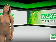 News people won't hear on other channels are presented by naked female presenters 5