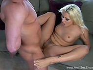 Fingering and cunnilingus were only the beginning of assfucking session with hot blonde 9