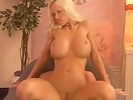 Подборка сцен с норвежской порнозвездой Tanya Hansen, чьи массивные буфера покрывают кончой 7