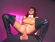 Anal repentance is the only way for Norwegian sinner in fishnet pantyhose to earn forgiveness