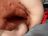 Slovenian fondles dick with feet because she doesn't want to interrupt from reading 9