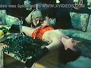Lustful girlish games performed by two fashionable Danish ladies in vintage porn video