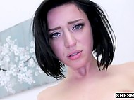 It was the first Stevie Foxx's porn scene and cameraman was pleased with her abilities 7