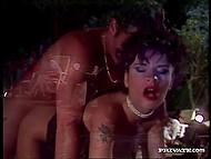 Корпоративчик порно актёров по поводу успеха очередного фильма быстро превратился в жёсткую групповуху 8