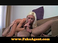 Agent was excited by wondrous Czech Angel Dido who came to porn interview 7