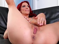 Fiery-red female couldn't stop licking sweet pussy of her golden-haired girlfriend in XXX video 4