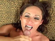 Perfect couple is when the wife loves to give blowjob, but husband to film the home videos 11