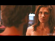 American actress Lili Bordan appears naked in several scenes from 'Cherry' movie 10