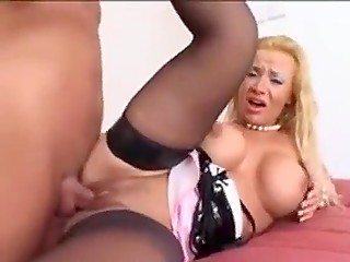 Soldier fucked high-class Slovenian La Toya Lopez and emptied balls full of sperm