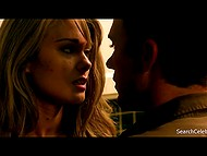 Compilation of hot scenes from movie called 'Stranded' with participation of American actress Kim Matula 10