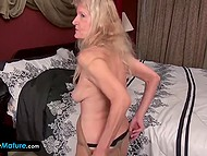 Compilation of high-quality XXX videos with old bitches demonstrating their treasures on camera 10