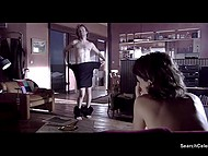 Compilation of intimate scenes from full-length movie 'Sex and Lucia' with Spanish actress Paz Vega 7