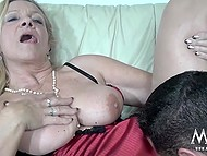 Mature female from Germany couldn't imagine that today she would be fucked by big bodybuilder 11