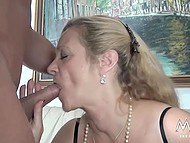 Mature female from Germany couldn't imagine that today she would be fucked by big bodybuilder 5