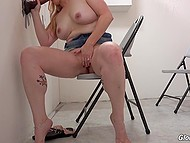 Blonde Harmoni Kalifornia called husband to make him hear her sucking and getting fucked by black rod 5