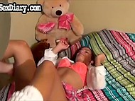 Compilation of porn movies with tanned nympho every day spreading her legs for bearded partner 8