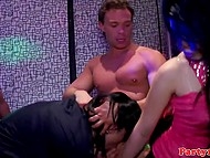 Muscled strippers were invited to the party as special guests and girls were pleased with such a surprise 6