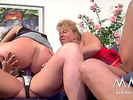 Mature German lesbians want to reach orgasm so they lick each other`s pussy 6