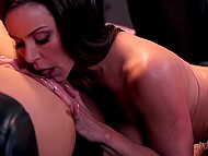 Wet behind ears girl has a well proportioned body that instantly turns her MILF on 6