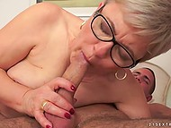 Old woman remembers her sexual adventures of the past doing it with young boy 4