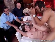 Husband's cock doesn't work, that's why he invites a young lover for his wife 5