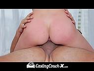 Няша послушно выполняла всё, что от неё требовал агент, чтобы стать порно актрисой 11