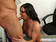 It was too easy for muscular student to excite astounding teacher Kendra Lust and prevail upon her to fuck 5