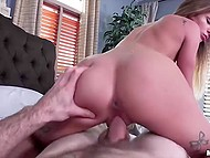 Dude couldn't refuse astounding lass' desire and discharged balls inside vagina 8